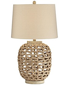 Rattan Rope Table Lamp