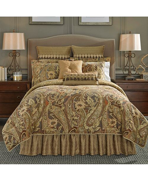 Croscill Ashton 4pc Cal King Comforter Set Amp Reviews