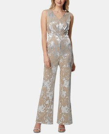 Metallic Jumpsuit, Created for Macy's