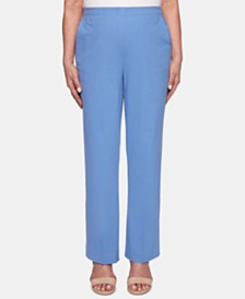 Alfred Dunner The Summer Wind Cotton Pull-On Pants