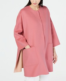 Weekend Max Mara Mallo Oversized Reversible Coat