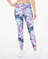 9a71c884917d2 Ideology Floral Printed Leggings, Created for Macy's