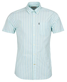Men's Striped Poplin Shirt