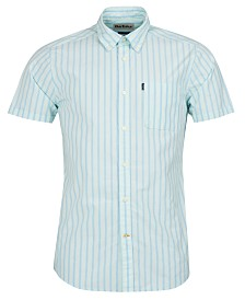Barbour Men's Striped Poplin Shirt