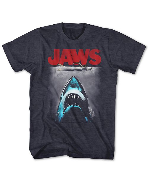 New World Jaws Movie Poster Men's Graphic T-Shirt