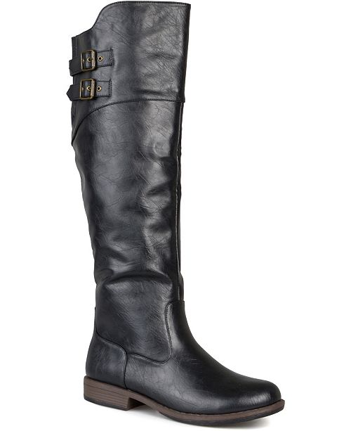 Journee Collection Women's Extra Wide Calf Tori Boot