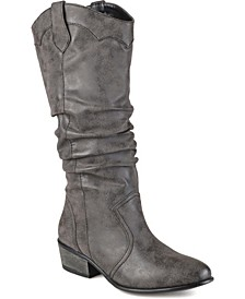 Women's Wide Calf Drover Boot