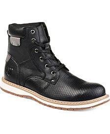 Vance Co. Men's Trent Perforated Ankle Boot