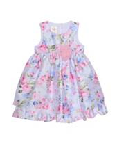 afbf9f1904f7 Laura Ashley Girl's Sleeveless Floral Print Party Dress