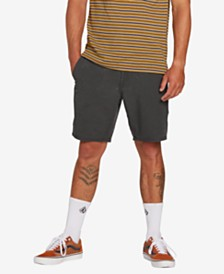 "Volcom Men's SNT Faded 19"" Hybrid Shorts"