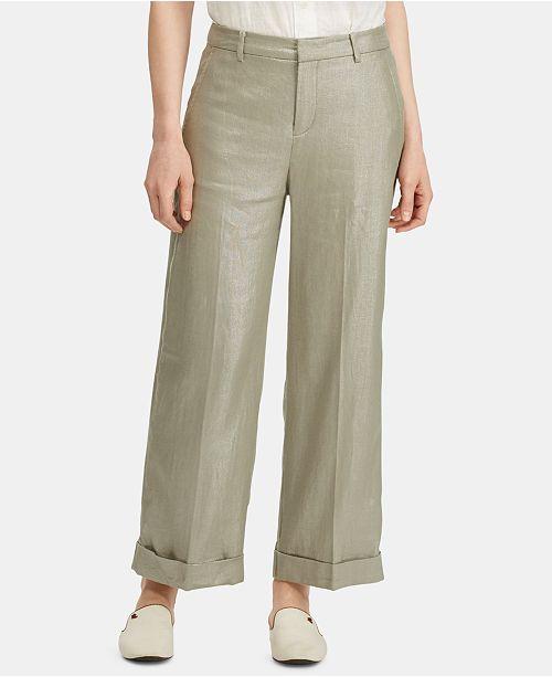Lauren Ralph Lauren Lightweight Wide-Leg Pants
