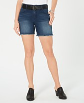 9fc12f5cf2397 Style & Co Belted Denim Shorts, Created for Macy's