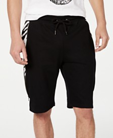 I.N.C. Men's Zebra Pieced Shorts, Created for Macy's