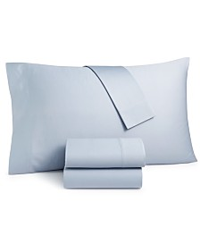 Lucky Brand Homegrown Cotton 300-Thread Count King Pillowcase Pair, Created for Macy's
