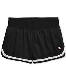 Champion Mesh Notch-Hem Shorts