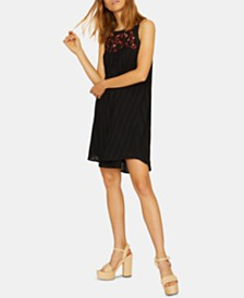 Sanctuary Modern Desert Tiered Embroidered Shift Dress