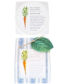 The Cottage Greenhouse Carrot & Neroli Fine Salt Scrub, 12-oz.