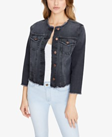 Sanctuary Addie Cropped Denim Jacket