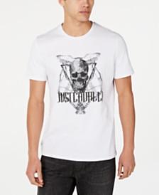 Just Cavalli Men's Skull & Logo Graphic T-Shirt