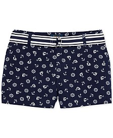 Polo Ralph Lauren Big Girls Chino Shorts