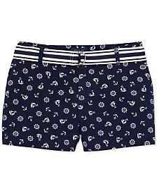 Polo Ralph Lauren Big Girls Chino Shorts