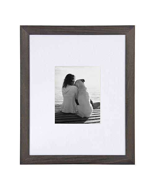 DesignOvation Museum Wood Picture Frame, Set of 2