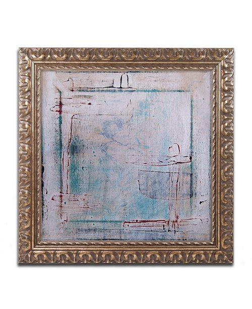 """Trademark Global Nicole Dietz 'Framed Out' Ornate Framed Art - 11"""" x 11"""""""