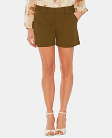 Vince Camuto Double-Weave 2-Pocket Shorts