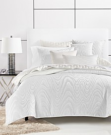 Moire King Duvet Cover, Created for Macy's