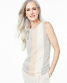 Sleeveless Cashmere Sweater, Created for Macy's
