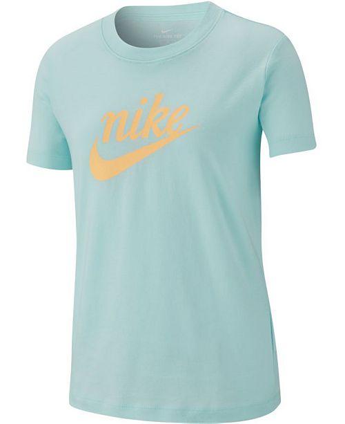 Nike Big Girls Graphic-Print Cotton T-Shirt