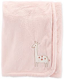 Baby Girls Plush Giraffe Blanket