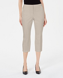 Invisible-Zip Capri Pants, Created for Macy's