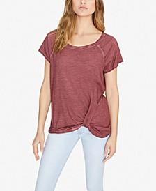 Sunny Days Twist-Front T-Shirt