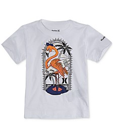 Hurley Toddler Boys Graphic-Print Cotton T-Shirt