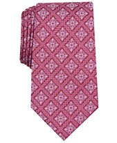 fbaa8da3 Tasso Elba Men's Medallion Silk Tie, Created for Macy's