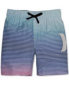Hurley Toddler Boys Striped Swim Trunks