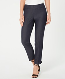 Nine West Straight-Leg Pants