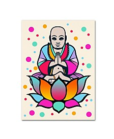 "Mark Ashkenazi 'Buddha' Canvas Art - 14"" x 19"""