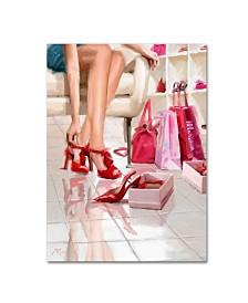 """The Macneil Studio 'Shoe Shop' Canvas Art - 14"""" x 19"""""""