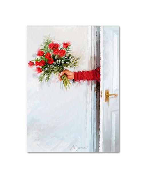 """Trademark Global The Macneil Studio 'Opening Door' Canvas Art - 14"""" x 19"""""""