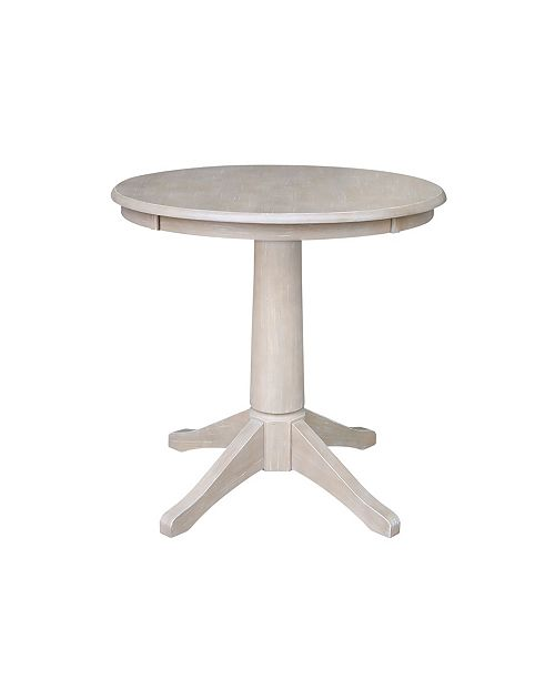"""WHITEWOOD INDUSTRIES/INTNL CONCEPTS International Concepts 30"""" Round Top Pedestal"""