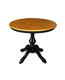 "36"" Round Top Pedestal Table - 28.9""H"