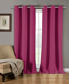 "Mildred 38"" x 84"" Curtain Panel Set"