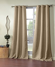 "Ashmury 38"" x 84"" Blackout Curtain Set"