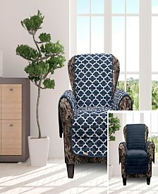 """Coby 69"""" x 75"""" Reversible Water Resistant Chair Cover"""