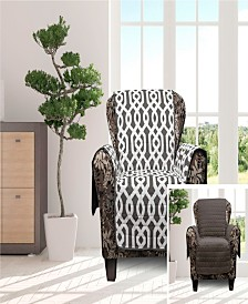 "Ashmont 69"" x 75"" Home Reversible Water-resistant  Chair Cover"