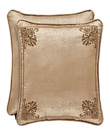 "J Queen Sardinia Gold 18"" Square"