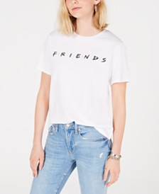 Love Tribe Juniors' Friends Cotton Graphic T-Shirt