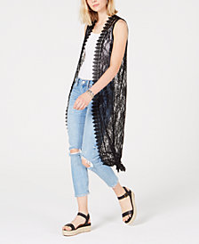 Polly & Esther Juniors' Lace Duster